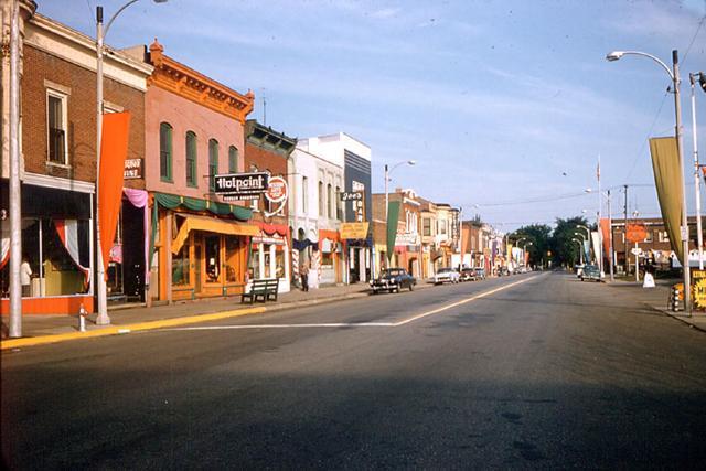 old photos town of walkerton indiana