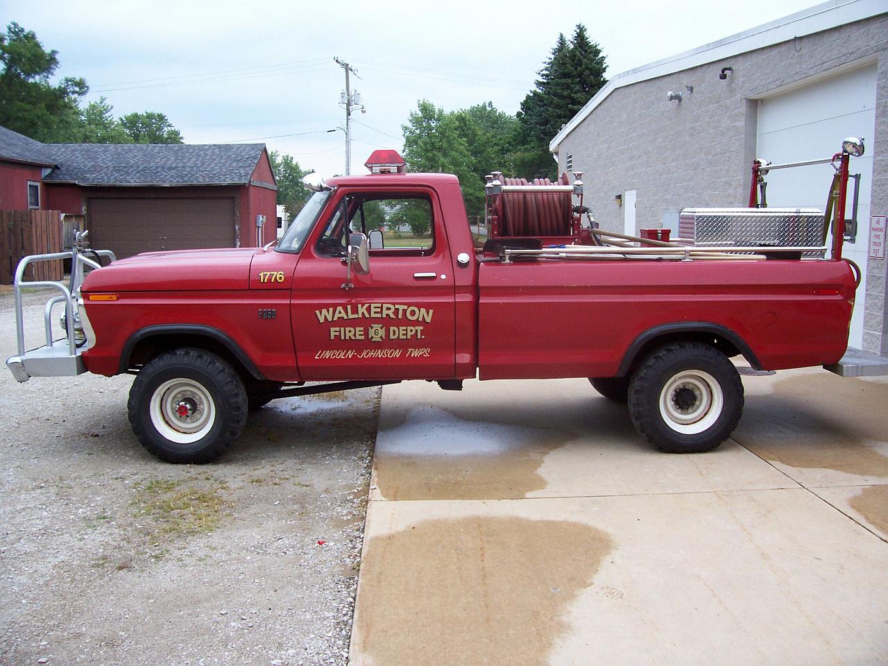 Equipment | Town of Walkerton, Indiana