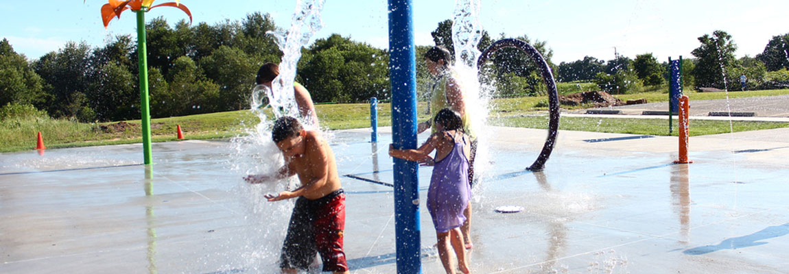 Enjoy the Splash Pad!